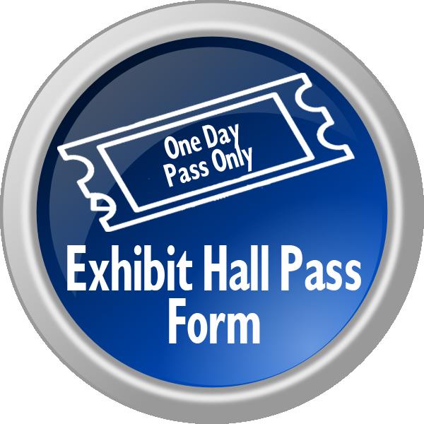 Exhibit Hall Pass Form