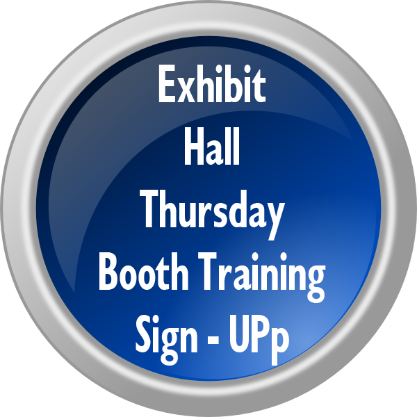 Exhibit Hall Thursday Booth Training Sign-Up Form