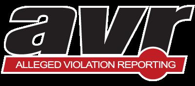AVR - Alleged Violation Reporting